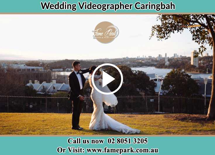 Bride and Groom at the hill Caringbah NSW 2229