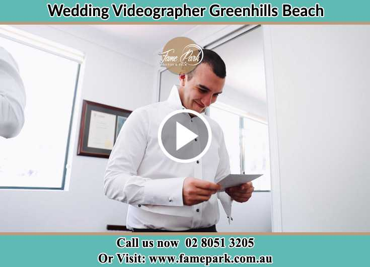 Groom preparing for the event Greenhills Beach NSW 2230
