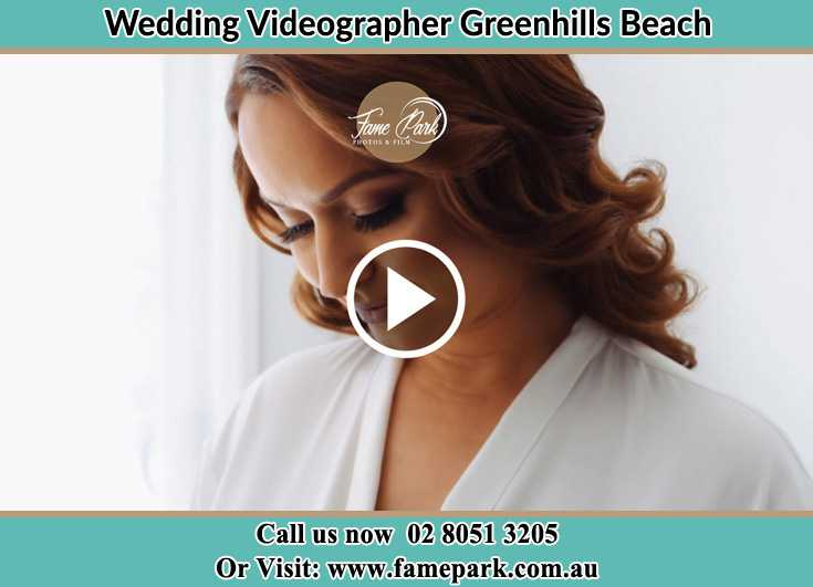 Bride preparing for the event Greenhills Beach NSW 2230