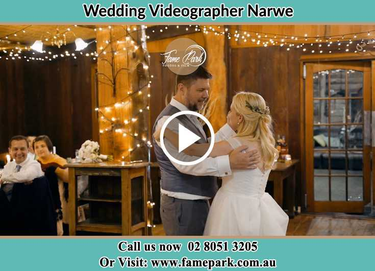 Bride and Groom at the dance floor Narwee NSW 2209