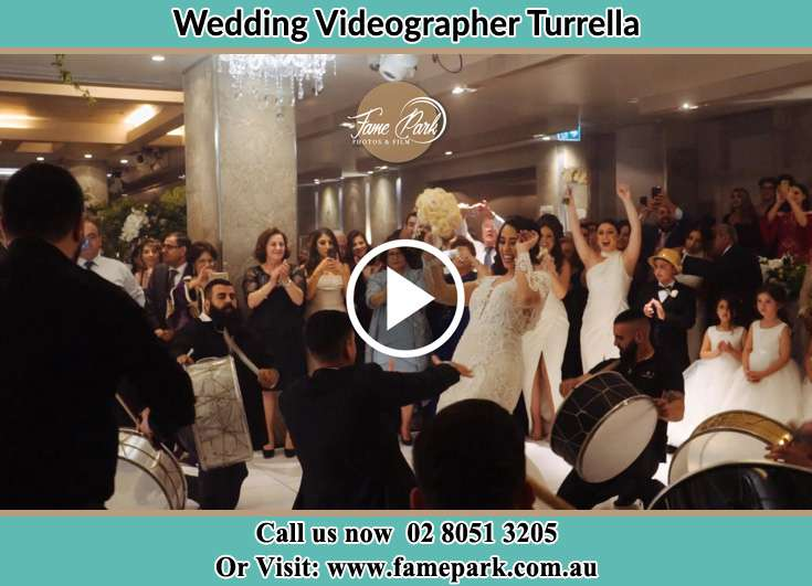 The newlyweds dancing on the dance floor Turrella NSW 2205
