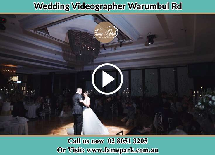The new couple dancing on the dance floor Warumbul Rd NSW 2233
