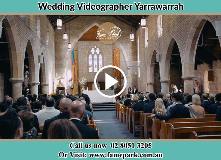 During the wedding ceremony Yarrawarrah NSW 2233